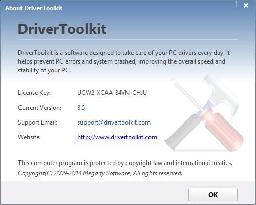 ключ продукта driver fixer