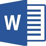 Microsoft Word 2013 logo