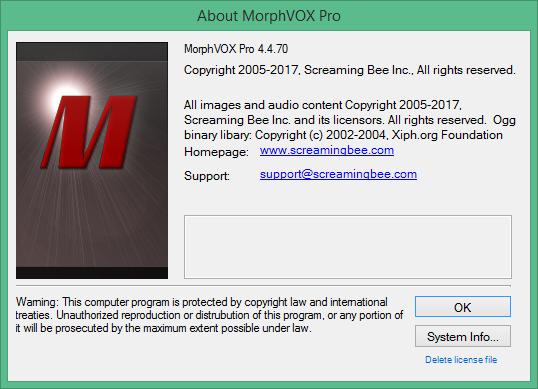 MorphVOX Pro скачать с ключом