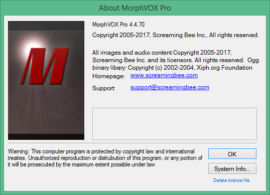 Screaming Bee Audio XP