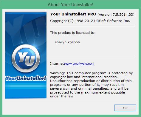 Your Uninstaller Pro скачать с ключом