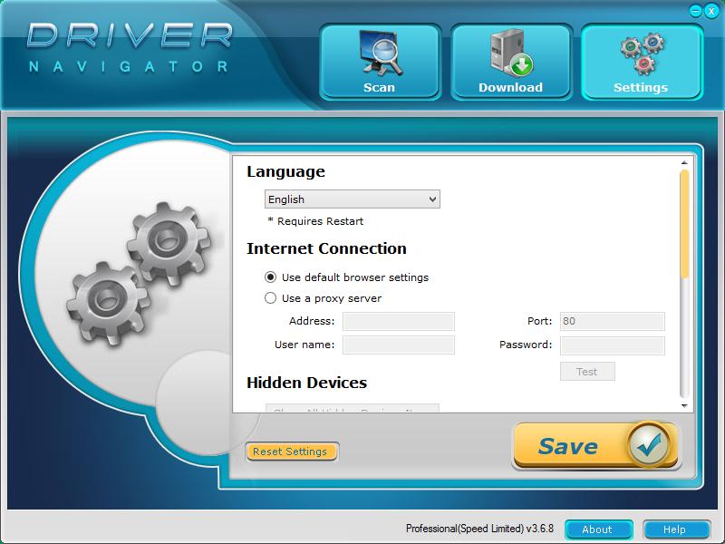 Driver Navigator активация
