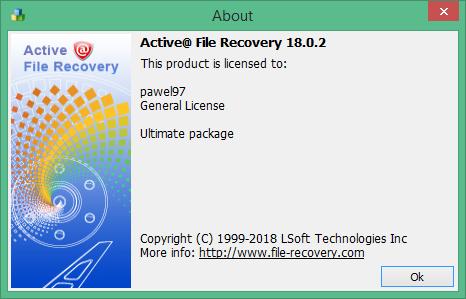 active file recovery скачать бесплатно русская версия
