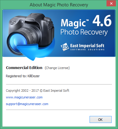 Magic Photo Recovery скачать с ключом