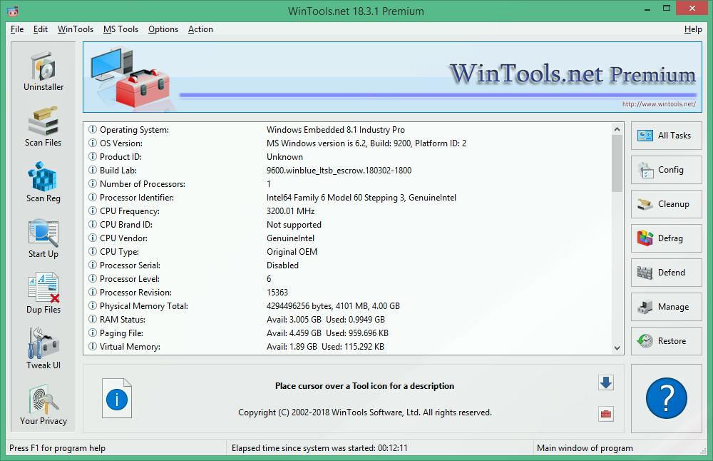WinTools net