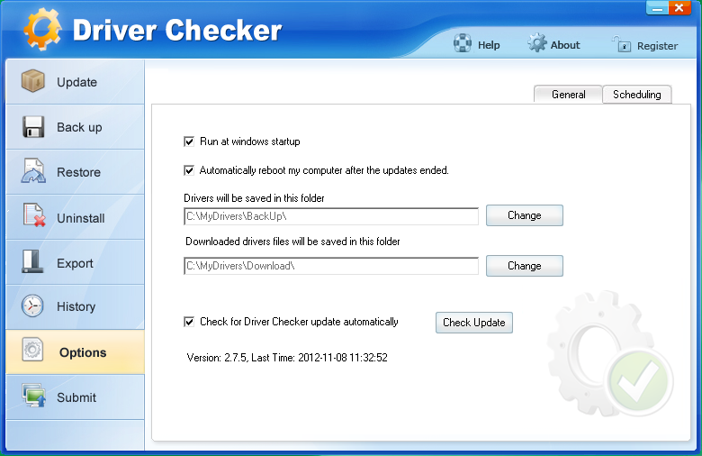 ключ Driver Checker
