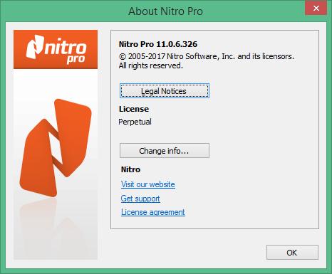Nitro PDF скачать с ключом