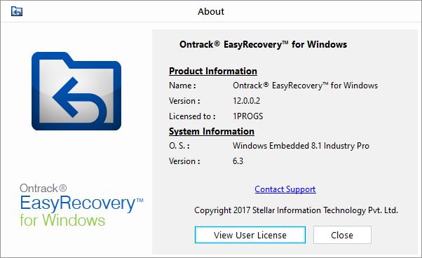 Ontrack EasyRecovery скачать с ключом