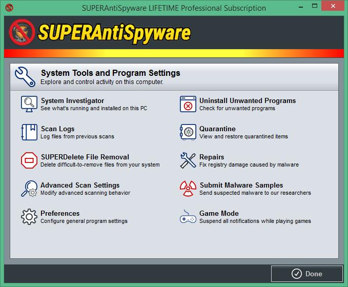 superantispyware professional код активации