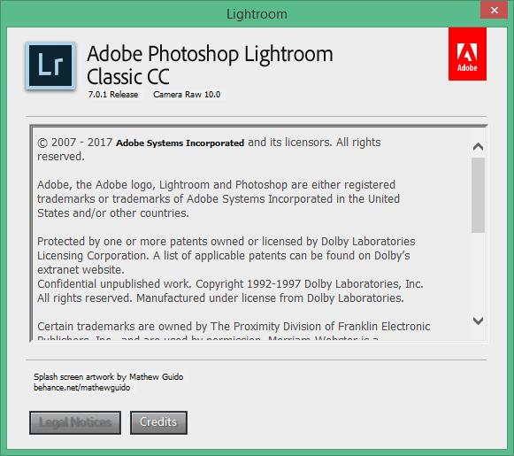 Adobe Photoshop Lightroom скачать с ключом