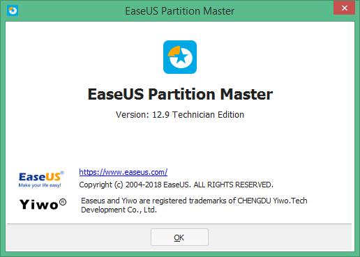 EaseUS Partition Master скачать с ключом