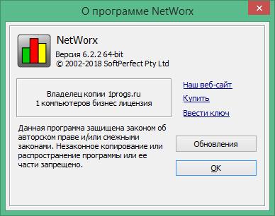 NetWorx русская версия