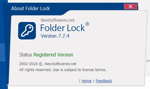 Folder Lock скачать с ключом