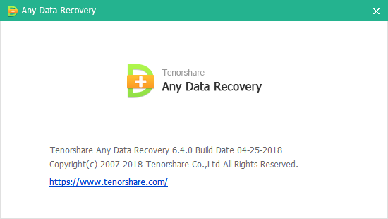Tenorshare Any Data Recovery Pro скачать с ключом