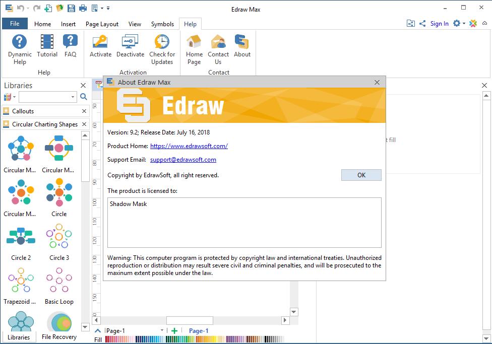 Edraw Max 9.2.0.693