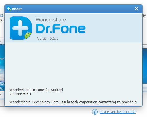 Wondershare Dr.Fone for Android код активации