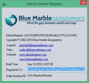 global mapper скачать