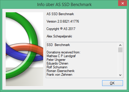 AS SSD Benchmark скачать