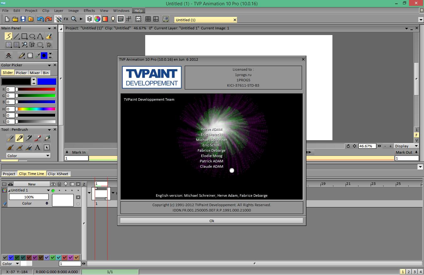 tvpaint animation 11 pro крякнутый