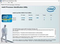 Intel Processor Identification Utility logo