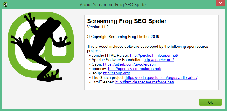 screaming frog seo spider скачать