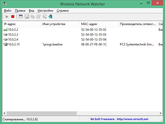 wireless network watcher скачать бесплатно на русском