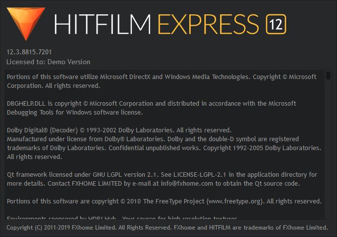 hitfilm express на русском скачать бесплатно