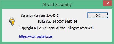 scramby код активации