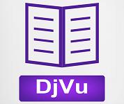 DjVu Viewer logo