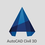 AutoCAD Civil 3D logo
