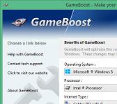 GameBoost logo