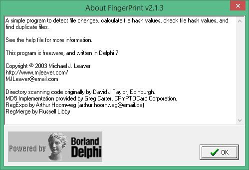 FingerPrint скачать