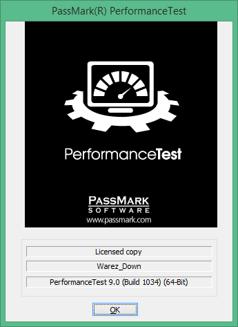 PassMark PerformanceTest скачать