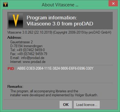 ProDAD VitaScene скачать