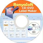 RonyaSoft CD DVD Label Maker logo