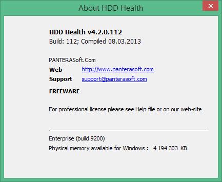 hdd health скачать