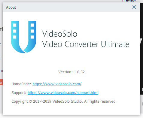 VideoSolo Video Converter скачать