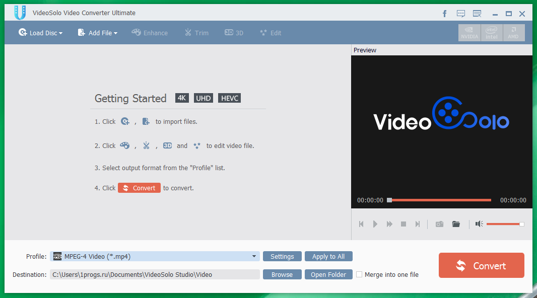 VideoSolo Video Converter