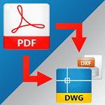 Aide PDF to DWG Converter logo