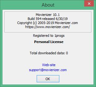 Movienizer скачать с ключом