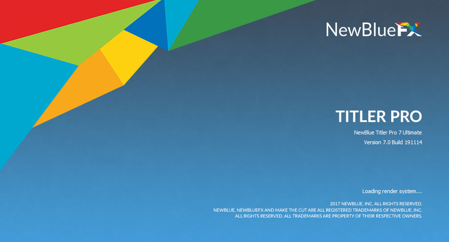 NewBlueFX Titler Pro