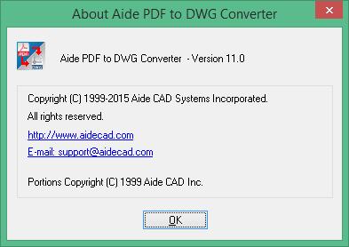 aide pdf to dwg converter код регистрации