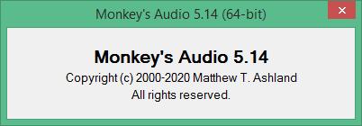 Monkey's Audio скачать