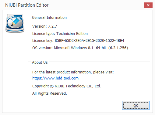 NIUBI Partition Editor скачать
