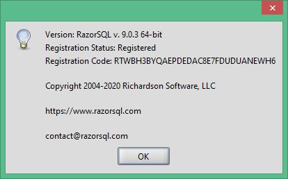 RazorSQL скачать