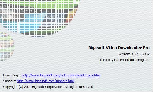 Bigasoft Video Downloader скачать торрент