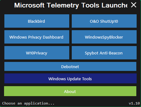Microsoft Telemetry Tools Bundle