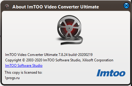 ImTOO Video Converter скачать
