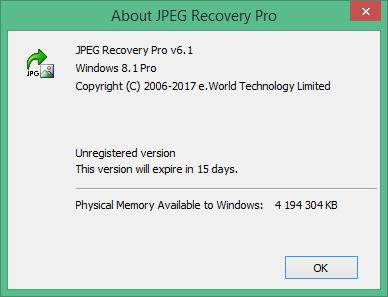 JPEG Recovery Pro скачать торрент