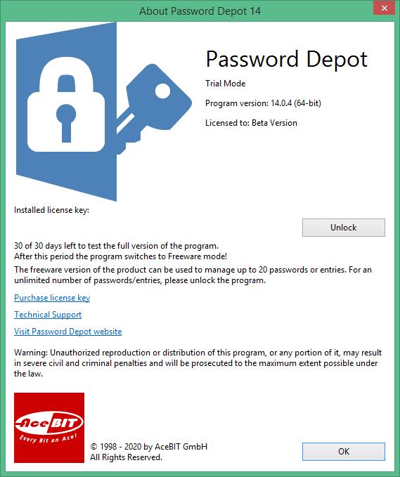 Password Depot скачать